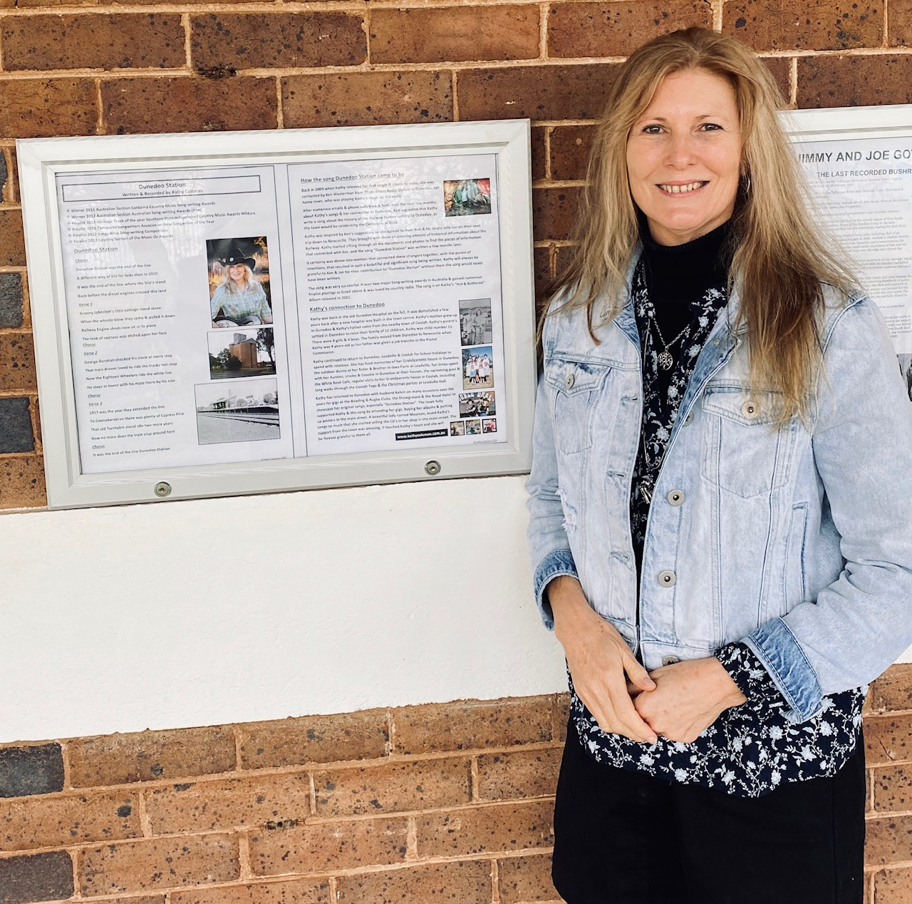 "Kathy is currently on display at the Museum in ""History on the Porch"" in her hometown of Dunedoo NSW. If you are passing through the town make sure you pop in & have a look."